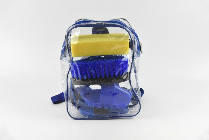 Dust Cleaning Horse Riding Grooming Kit 20*8*18 cm For Everyday Grooming