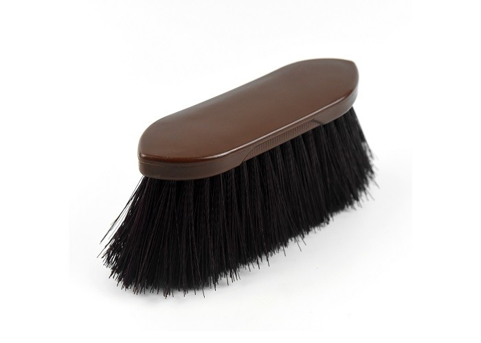 Soft Bristles Horse Grooming Brushes , Dark Color Custom Horse Brushes